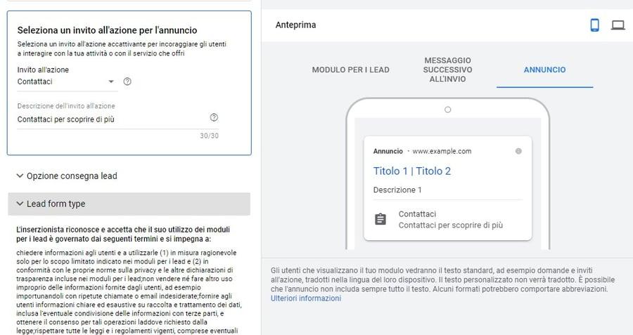 Google Ads Marketing b2b_Modulo per i Lead_3